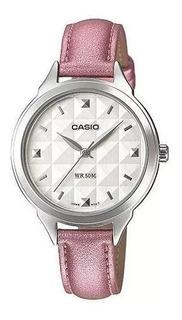 Reloj Casio De Dama,liviano Y Sumergible,para Todo El Día!!!