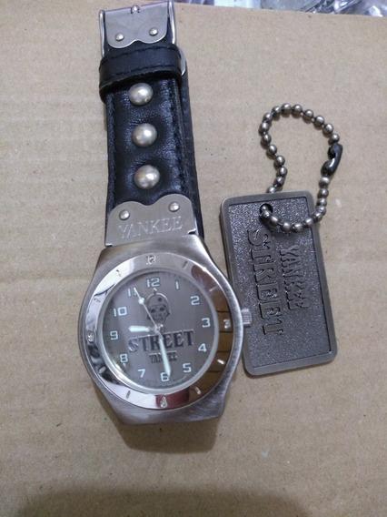 Relógio Yankee Street Anos 90 Vintage Masculino