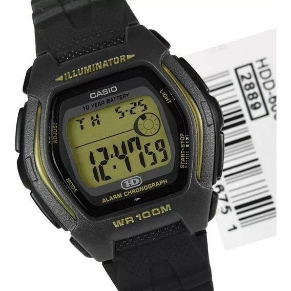 Relogio Casio G Hdd-600g-9 Retrô-vintage Alarm Crono Origina