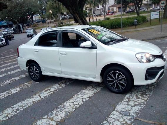 Toyota Etios 1.5 Platinum 2018 S/entrada