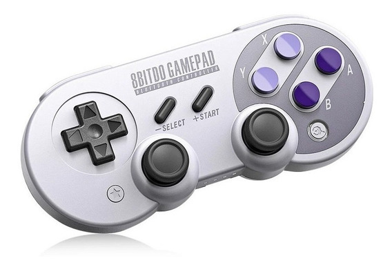 Controle Super Nintendo Sem Fio E Bluetooth P Smartphone Pc