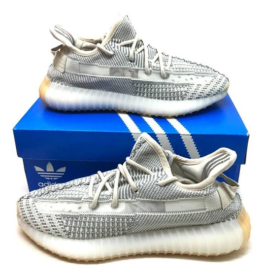 Tênis Yeezy Boost 350 V2 Static Reflective Masculino Hype
