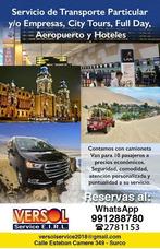 Transporte Privado Y/o Empresas