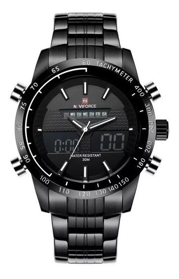 Relógio Masculino Naviforce 9024 Esportivo Militar Original