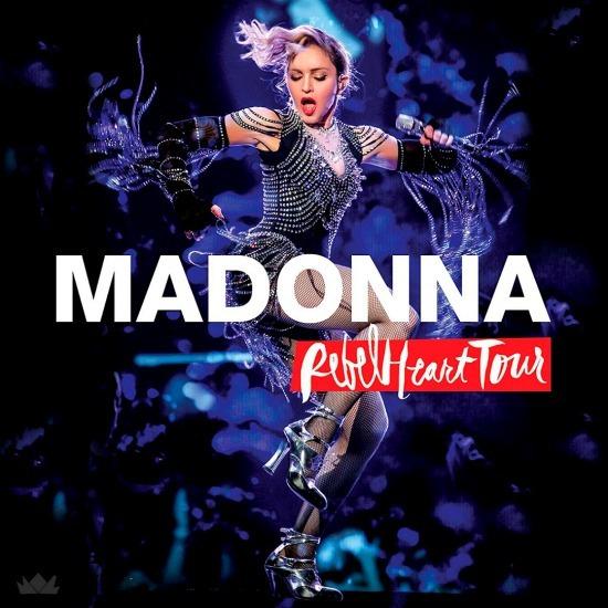 Cd Madonna - Rebel Heart Tour (box Lacrado Com 2 Cds)