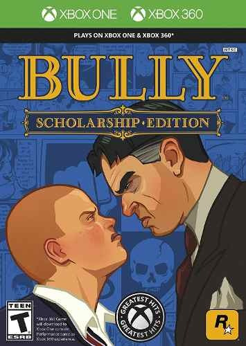 Bully Scholarship Edition - Xbox 360 Xbox One Midia Fisica