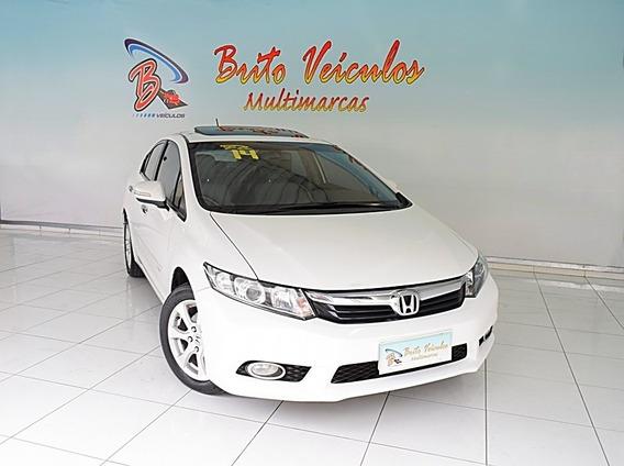 Honda Civic 2.0 Exr 16v Flex 4p Automático 2014