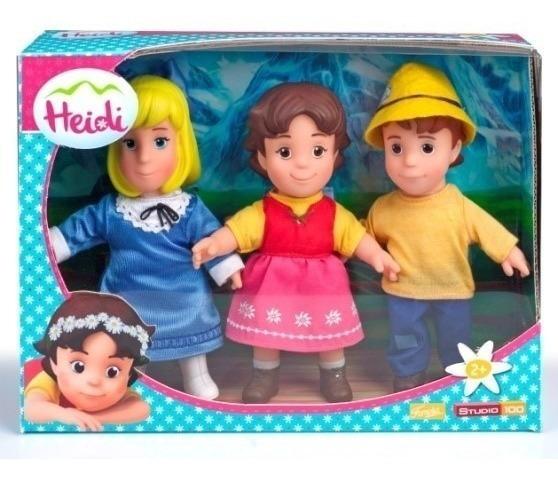 Pack De Heidi, Pedro Y Clara