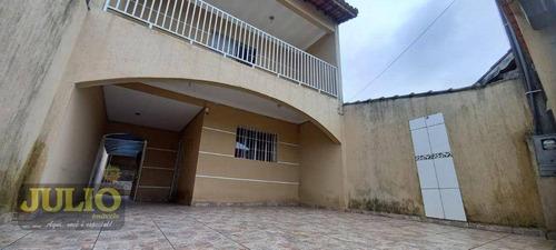 Sobrado Com 3 Dormitórios À Venda, 135 M² Por R$ 350.000,00 - Jardim Praia Grande - Mongaguá/sp - So0904