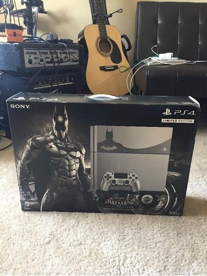 Play Station 4 Batman Edicion Limitada