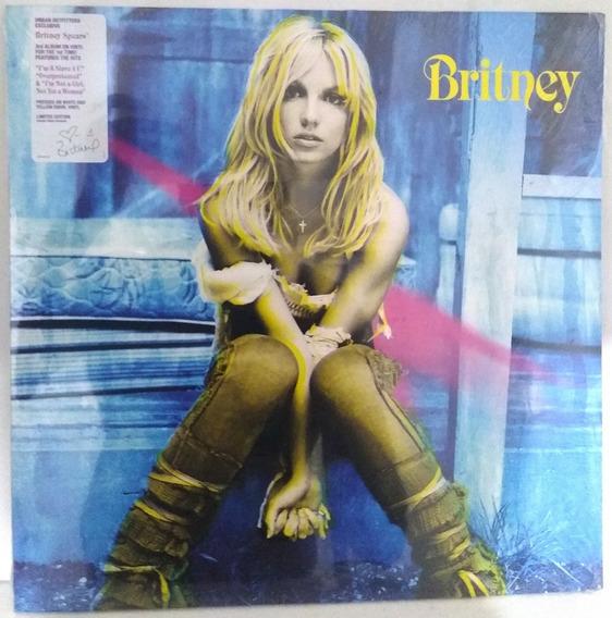 Lp Britney Spears Britney Pronta Entrega Lacrado Leia