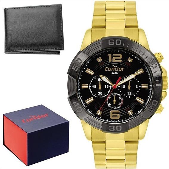 Relógio Condor Masculino Original C/garantia Nf Covd54ay/4p