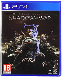 Middle Earth Shadow Od War Eu Ps4 Fisico Nuevo Sellado