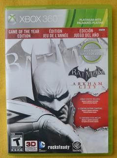 Batman Arkham City Xbox 360 Play Magic