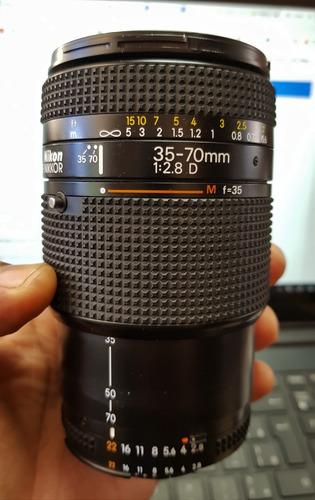 Lente Profissional Nikon 35-70mm F2.8d Fx Equiv 24-70mm F2.8