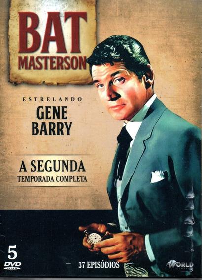 Dvd Bat Masterson 2ª Temporada Completa - Bonellihq L19