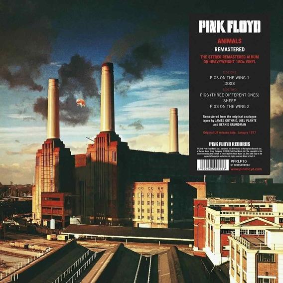 Pink Floyd Animals Remas. 180 Gram Importado Lp Vinilo Nuevo