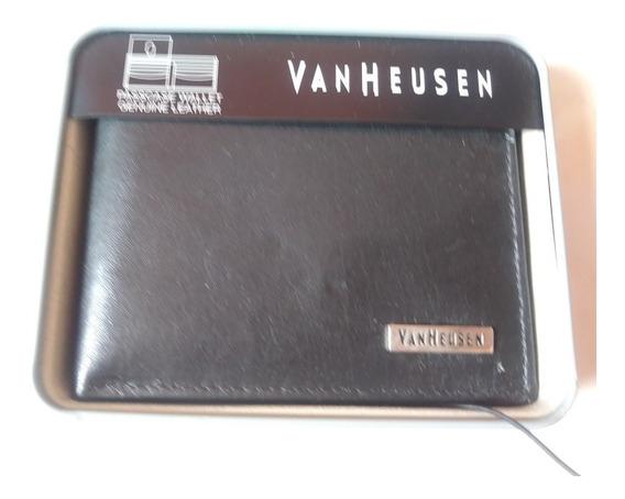 Billetera Vanheusen Cuero Nueva