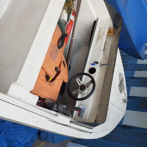 Imagem 1 de 6 de Lancha Cobra 15 Pés, Com Motor 40 Hp