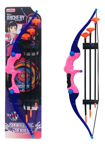 Arco Flecha Infantil Ninos Set Juguete New Pce 0199 Bigshop