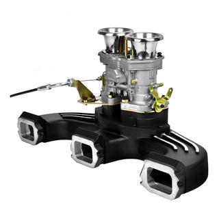 Multiple Admision Chevrolet + Carburador Idf Fajs Collino 12