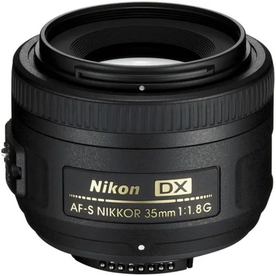 Lente Nikon 35mm F1.8
