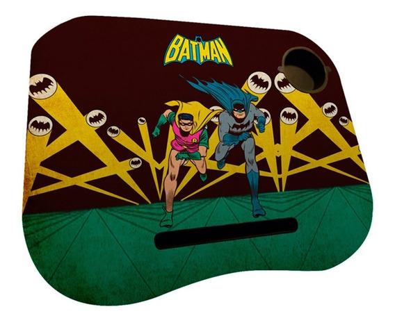 Porta Laptop Em Mdf E Plástico - Dc Comics - Batman E Robin