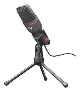 Microfono Trust Mico Gxt 212 Con Tripode 3,5mm Usb Envio
