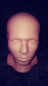 Cabeza Maniqui Para Mascara Luchador Profesional O Semiprofe