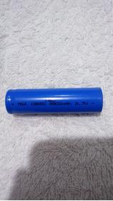 Bateria 18650 9900mah 3.7v Lanterna Militar Led, Cod. 00162