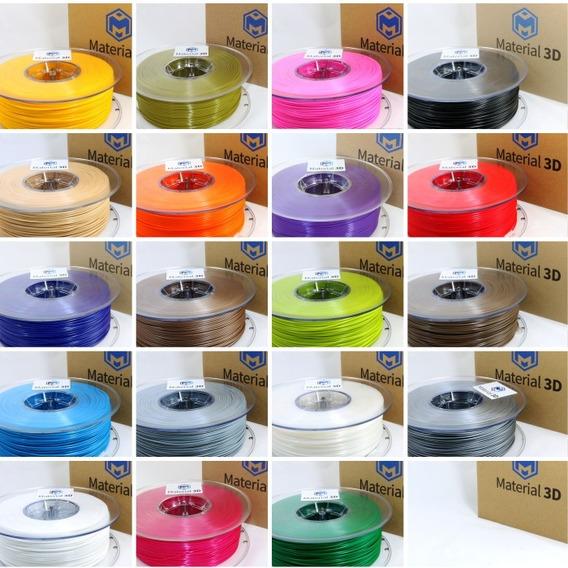 Filamento Pla 1kg Material 3d - Várias Cores - Qualidade
