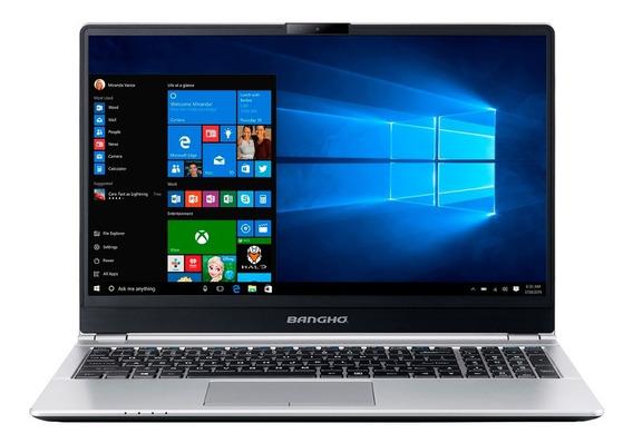 Notebook Banghó Bes E6 I5 8250u 8gb Ssd 240gb 15,6¨ Fhd W10