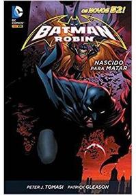 Hq Batman & Robin: Nascido Para Matar Panini Português