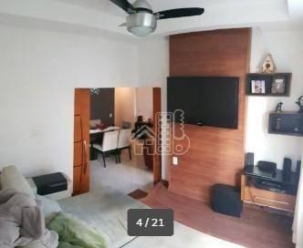 Apartamento Com 3 Dormitórios À Venda, 102 M² Por R$ 850.000,00 - Icaraí - Niterói/rj - Ap2830