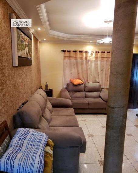 Casa A Venda No Bairro Quarta Divisão Em Ribeirão Pires - Sp. 3 Banheiros, 2 Dormitórios, 2 Suítes, 2 Vagas Na Garagem, 1 Cozinha, Área De Serviço, Copa, Sala De Tv. - 2147 - 2147 - 34725017