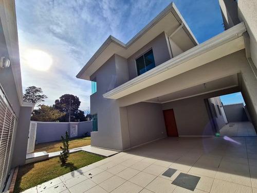 Casa 4 Quartos Moderna No Santa Amélia - 983