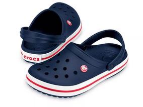 Zapato Crocs Caballero Azul Marino
