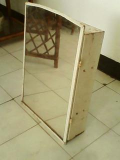 Gabinete Metálico Con Su Espejo Para Baño.