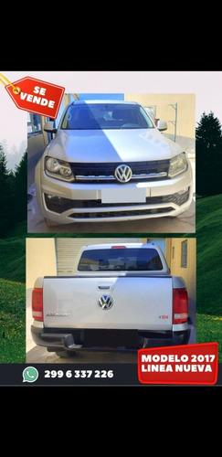 Volkswagen Amarok 2.0 Cd Tdi 180cv Comfortline 2017
