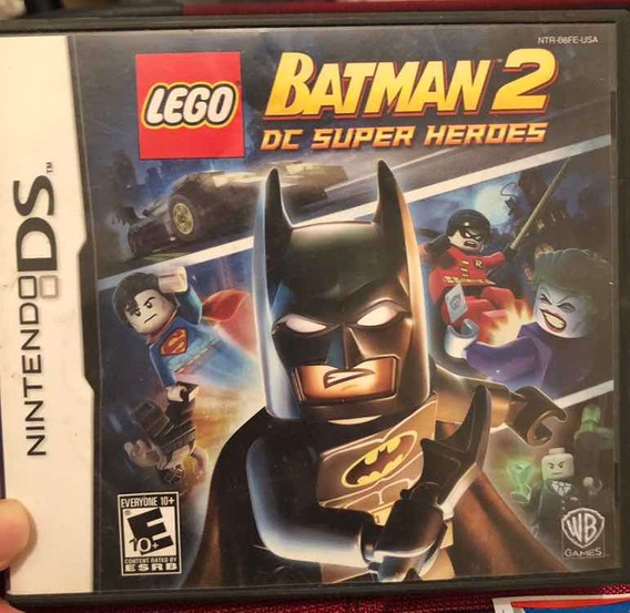 Jogo Lego Batman 2 - Nintendo 3ds - Original!