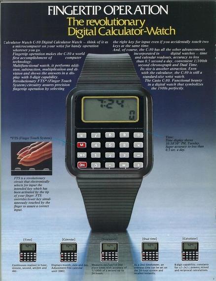 Relógio Digital Calculadora O Melhor Do Site !!!