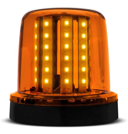 Giroflex 54 Leds Giroled 12/24v Imã Ambar Luz Emergencia