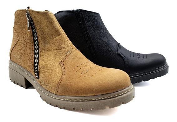 Botas Mujer Borcegos Zapatos Botineta Cuero Tacha Moda 604em
