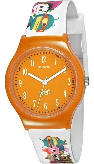 Relógio Infantil Seculus 46505m0svnp6 + 2 Jogos Educativos