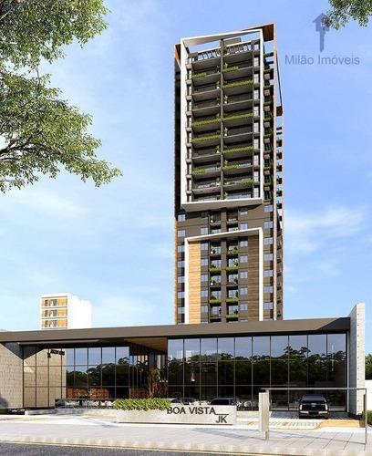 Apartamento Com 2 Dormitórios À Venda, 76 M² Por R$ 430.224,48 - Além Ponte - Sorocaba/sp - Ap1489