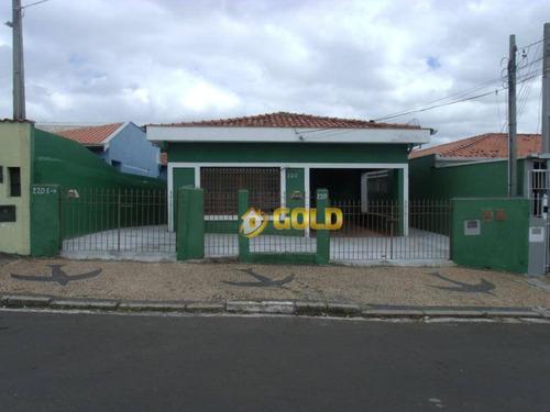 Casa Com 3 Dormitórios À Venda, 143 M² Por R$ 580.000 - Vila Lemos - Campinas/sp - Ca0446