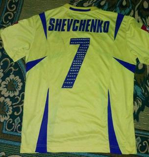 Jersey Ucrania Mundial 2006 Shevchenko, Remate!!!