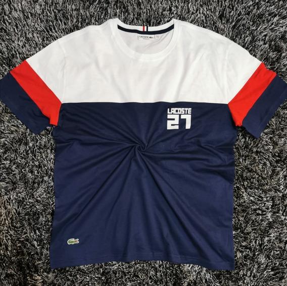 Camiseta Lacoste Mande In France 27 Original