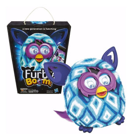 Boneco Furby Boom A6848 Fala Portugues Interativo