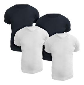 Kit Com Quatro Camisetas Gola Redonda - Polo Match